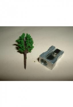 Bäume, Laubbäume mittelgrün, kugelig 35mm Baum7