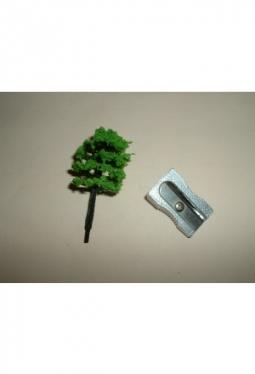 Trees, deciduous trees medium green 40mm tree8