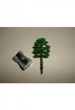 Bäume, Laubbäume dunkelgrün, 40mm Baum10