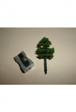 Bäume, Laubbäume dunkelgrün2, 40mm Baum11