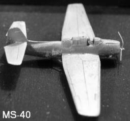Grumman TBF Avenger Torpedobomber MS40