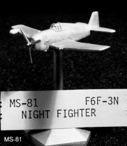 "Grumman F6F-3N ""Hellcat"" Nachtjäger MS81"