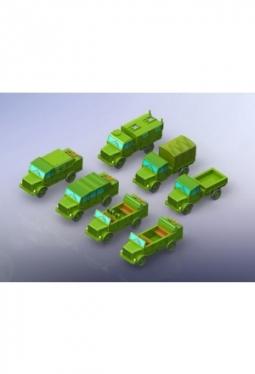 Borgward B2000 Truck Variants 1/285