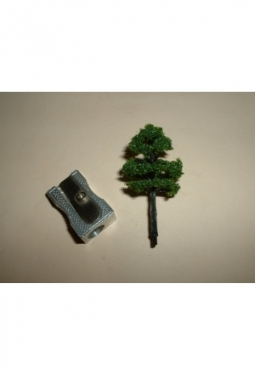 Trees, deciduous trees dark green2, 40mm tree11