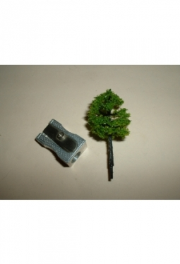 Trees, deciduous trees medium green 40mm tree12