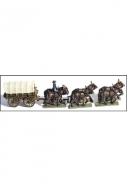 Supply Wagon 6 Mule Team ACW49